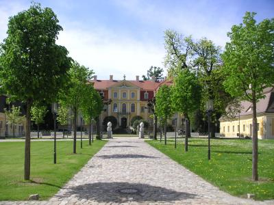 Park Barockschloss Rammenau